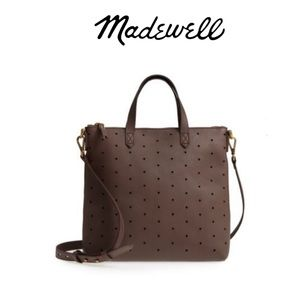 Madewell Perforated Mini Transport Castle Rock